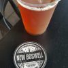 Draft beer at New Boswell Brewery in Richmond, Indiana