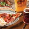 Pizza and beer at Bad Dad Brewery in Fairmount, Indiana