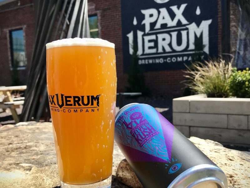 Beer at Pax Verum Brewing in Lapel, Indiana