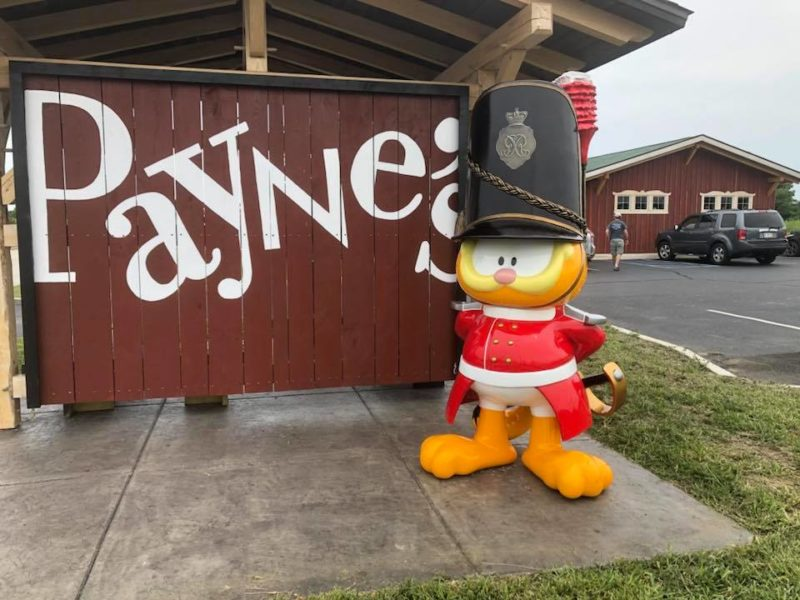 Outside of Payne's in Gas City, Indiana