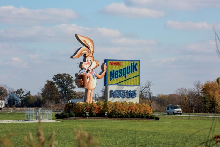 The Nestle Anderson plant in Indiana