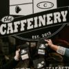 Storefront of The Caffeinery in Muncie, Indiana