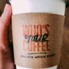 Cup of coffee at Who's Your Coffee in Hartford City, Indiana