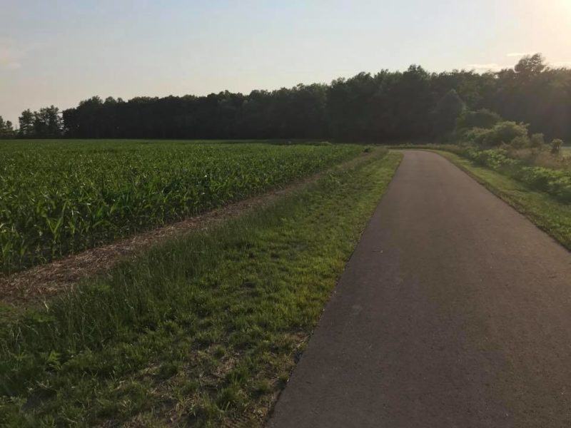 Blackford County Greenway in Indiana