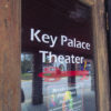 The door of Key Palace Theatre in Red Key, Indiana