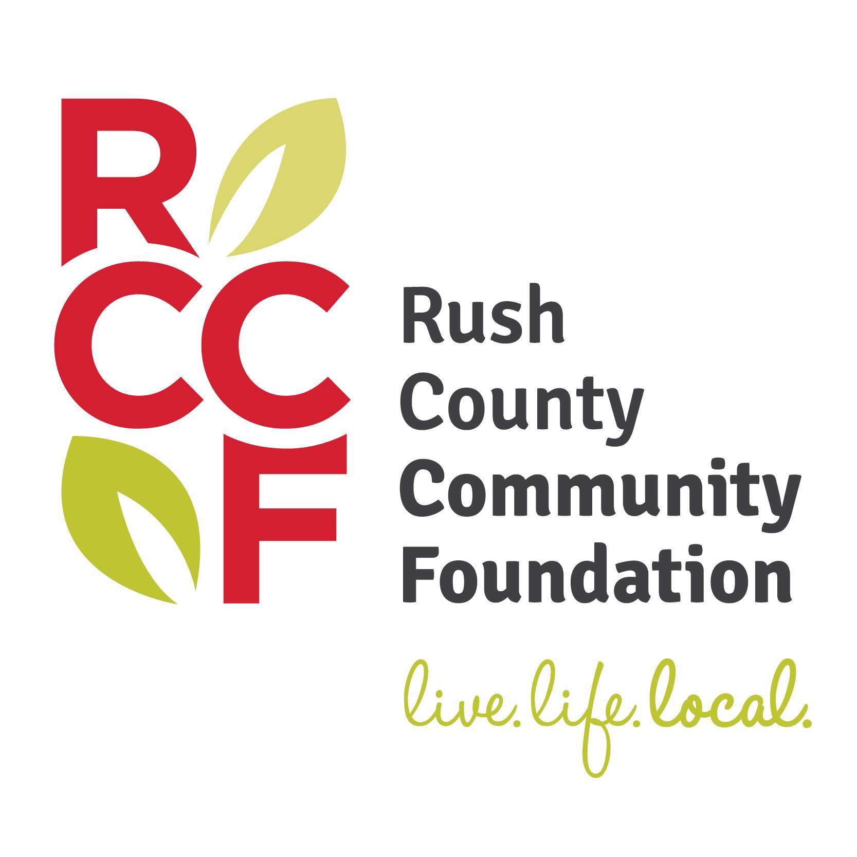 rush county community foundation logo