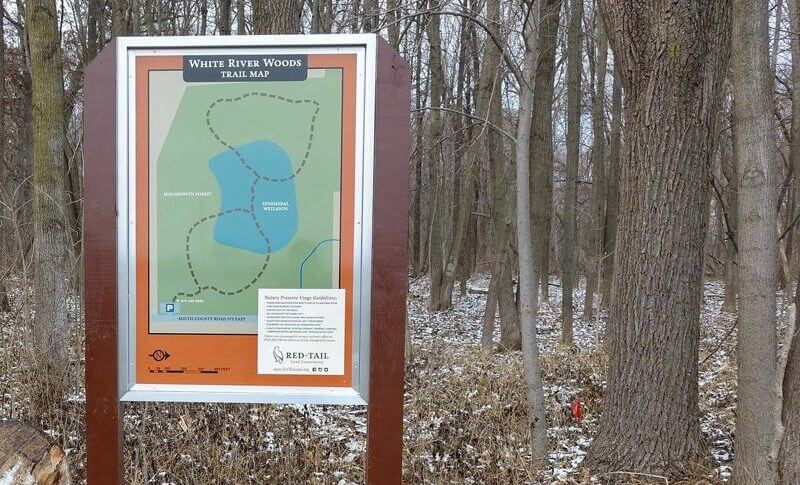 witer river woods nature trail