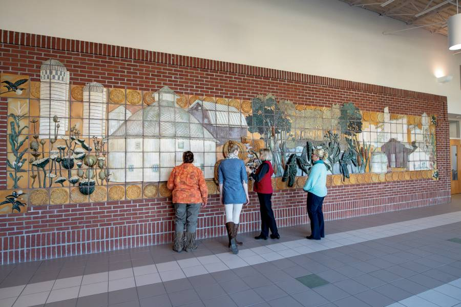 Arts Place Wall in Jay County