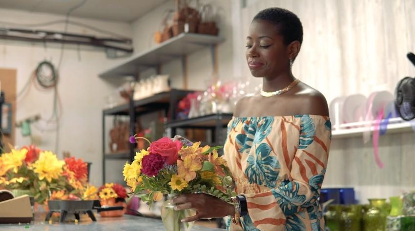 flower arrangement entrepreneur
